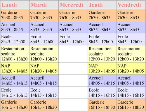 horaires-scolaires